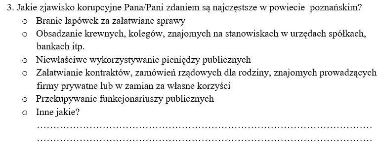 ankieta praca dyplomowa pytania półotwarte