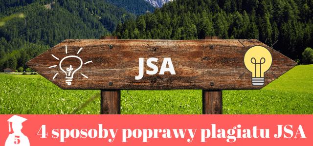 JSA metody poprawy plagiatu