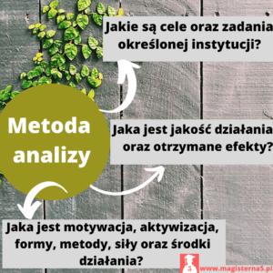 Co umożliwia metoda analizy dokumentów