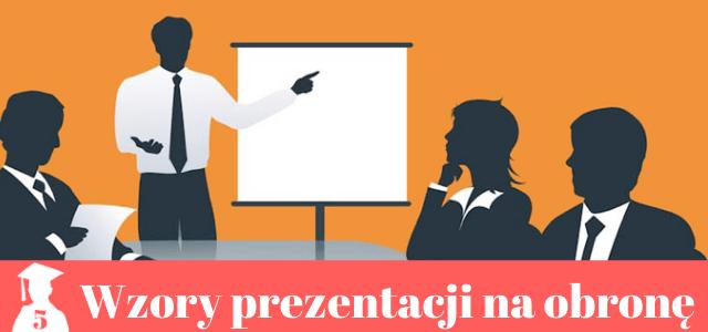 Prezentacja na obronę pracy dyplomowej – przykłady